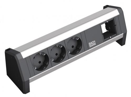 Prezentare produs Sistem de management al cablurilor pentru birou BACHMANN - Poza 3
