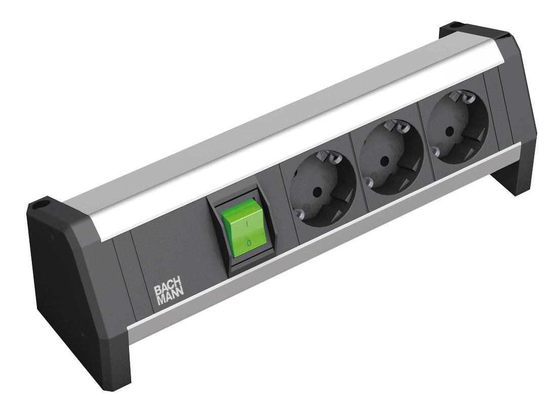Sistem de management al cablurilor pentru birou BACHMANN - Poza 4