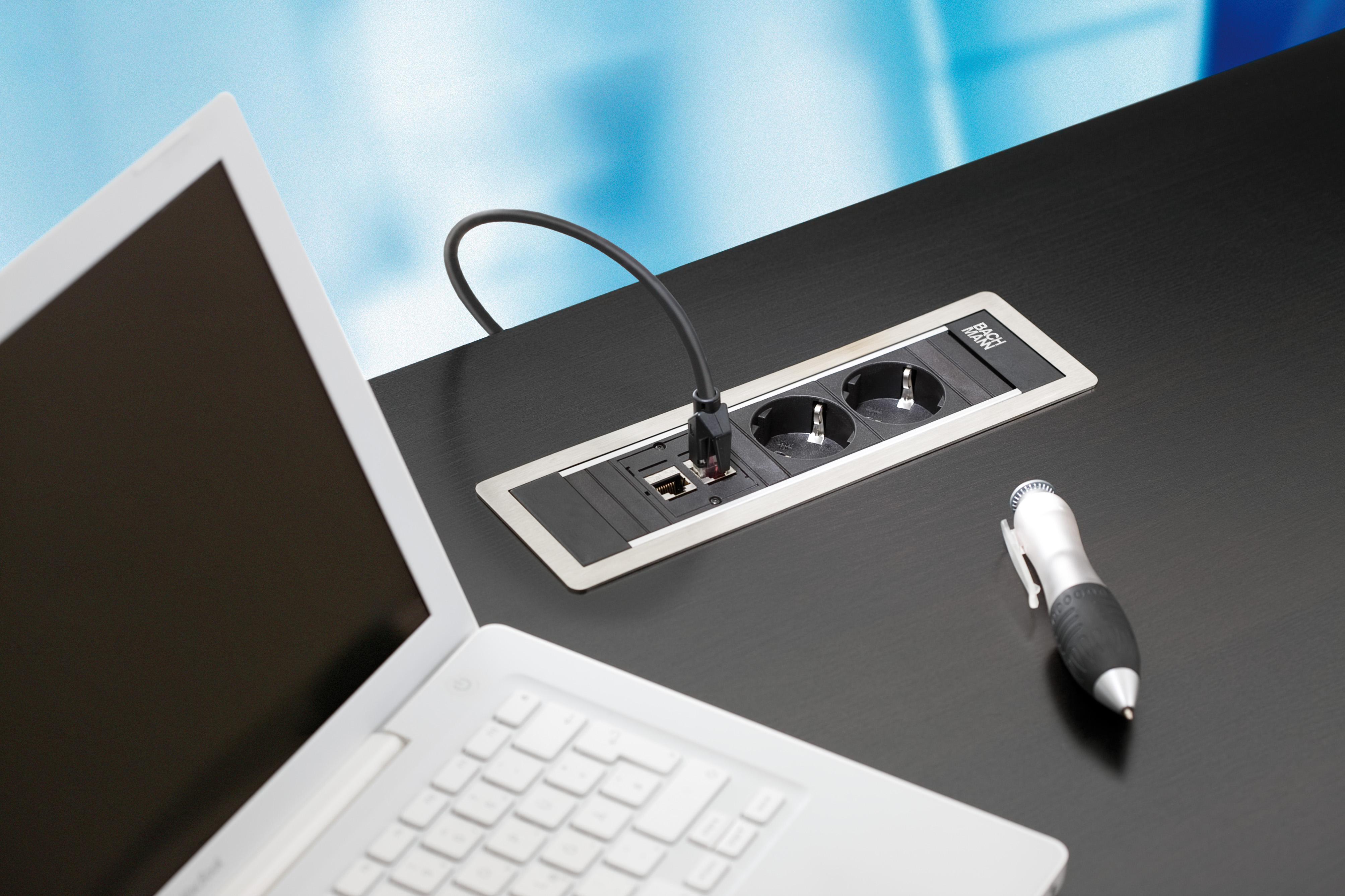 Sistem de management al cablurilor pentru birou BACHMANN - Poza 3
