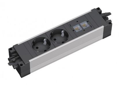 Sistem de management al cablurilor pentru birou / 336_040
