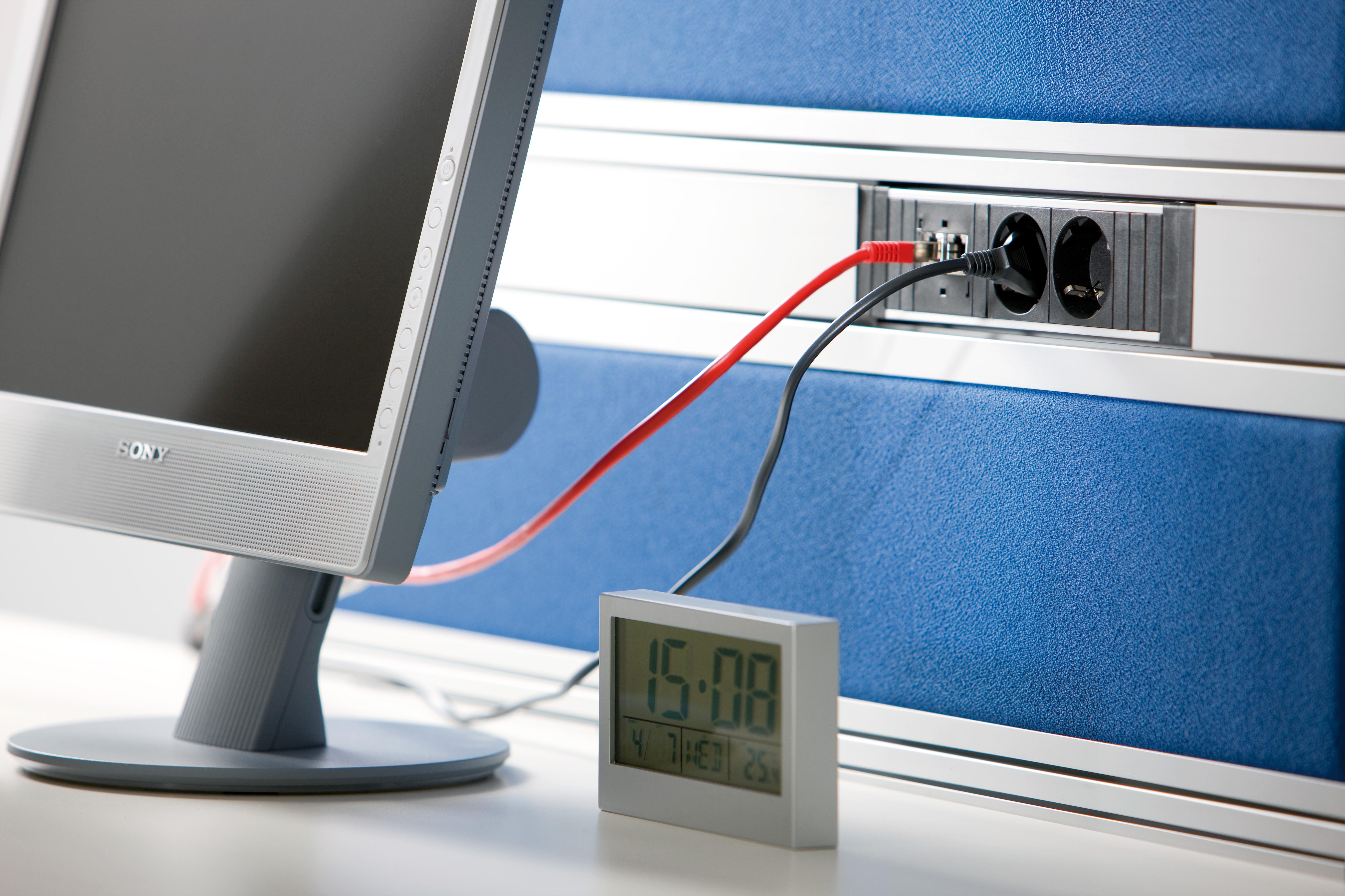 Sistem de management al cablurilor pentru birou BACHMANN - Poza 6