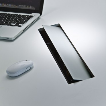 Prezentare produs Sistem de management al cablurilor pentru birou BACHMANN - Poza 8