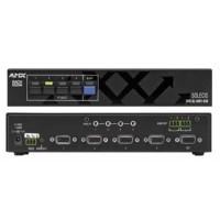 Management si control sisteme audio-video Media Switch - permite comutarea semnalului audio si video de la mai multi utilizatori catre diferite echipamente media precum videoproiector, monitor, etc.