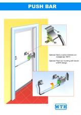 Sistem antipanica pentru usi frigorifice MTH