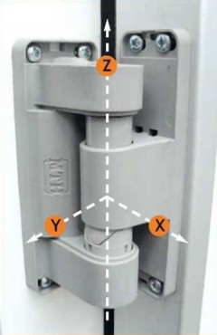 Balama 3D reversibila si ajustabila MTH - Poza 2