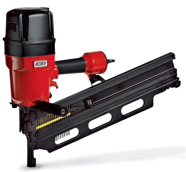 Masina de batut cuie in benzi pana la 130 mm pentru fixari pe structura de lemn - F 42-130 P1 ALSAFIX - Poza 22