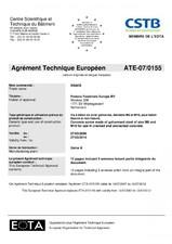 Agrement ETA ALSAFIX