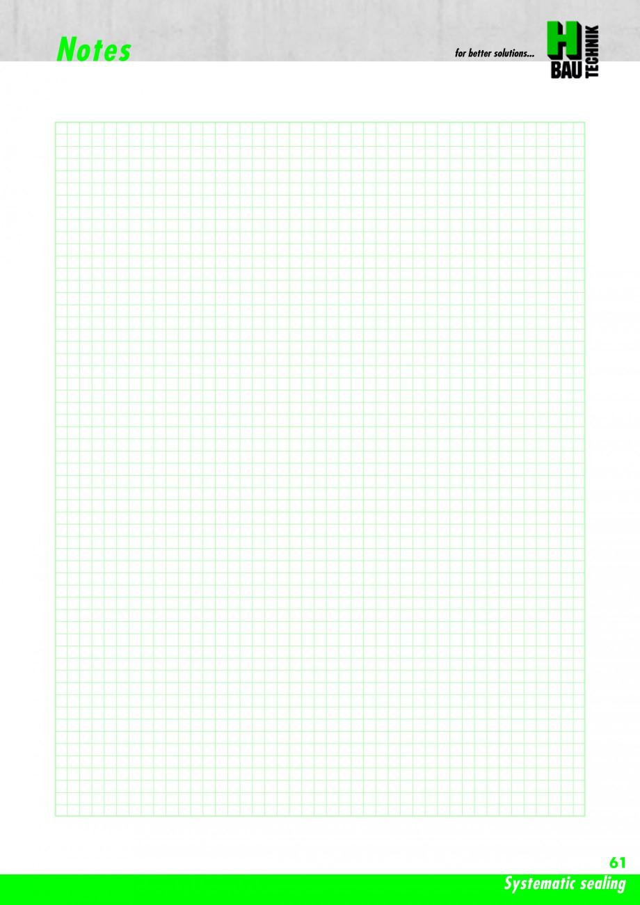 Pagina 63 - Hidroizolatie pentru rosturi de turnare H-BAU Technik PENTAFLEX Catalog, brosura Engleza...
