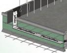 Hidroizolatie pentru rosturi de turnare din beton - PENTAFLEX H-BAU Technik