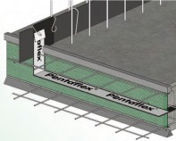 Hidroizolatie pentru rosturi de turnare din beton - PENTAFLEX