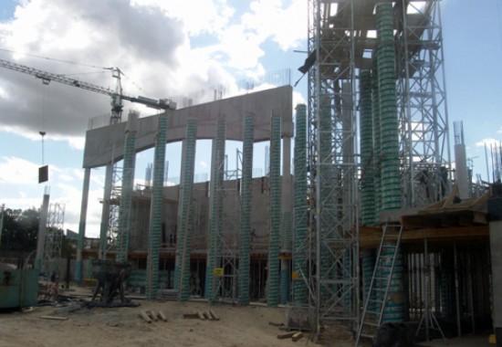 Cofraje circulare pentru suprafete netede din beton - RAPIDOBAT  H-BAU Technik