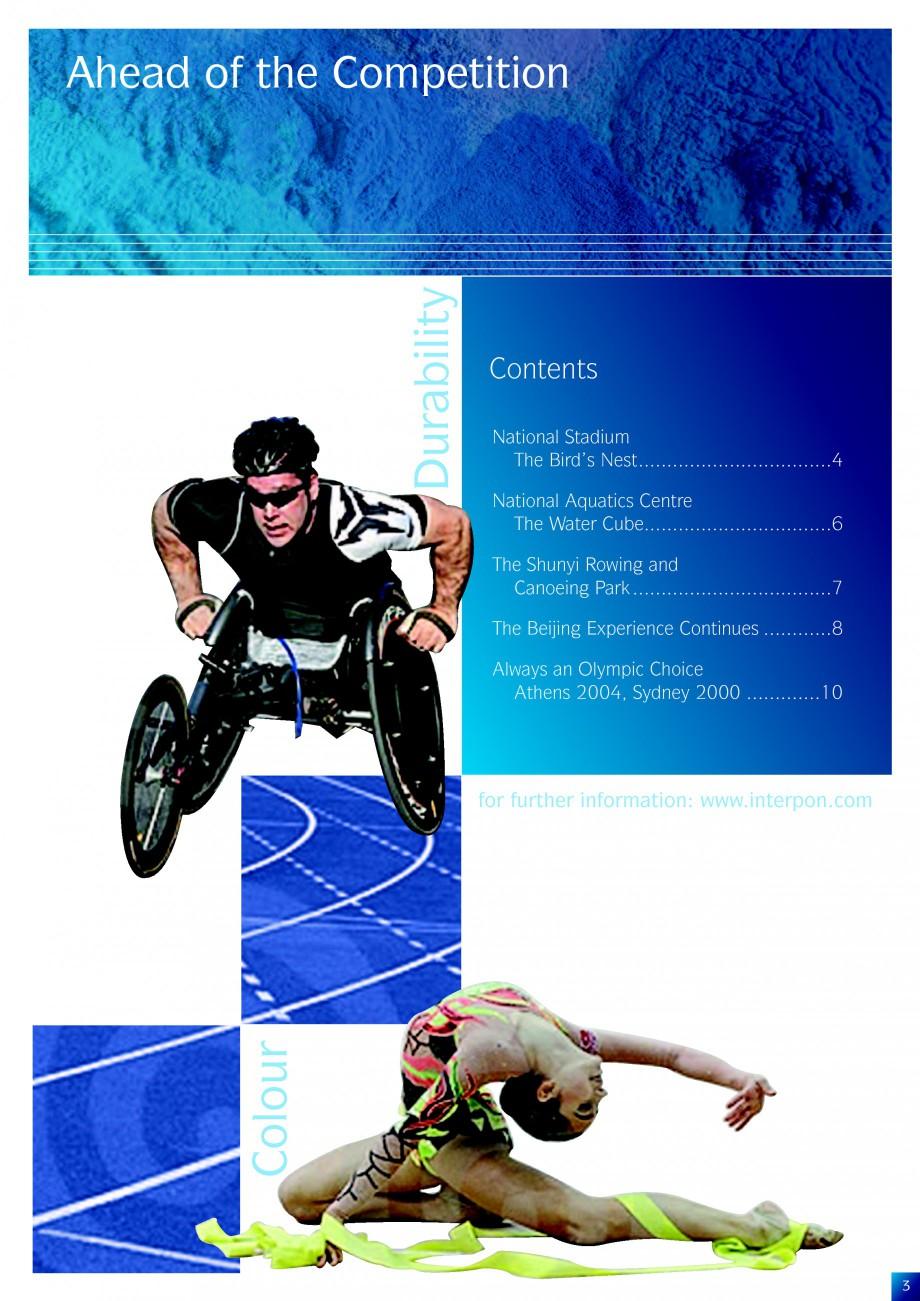 Pagina 3 - Lucrari de referinta la diverse editi ale Jocurilor Olimpice - Beijing, Atena, Sydney...