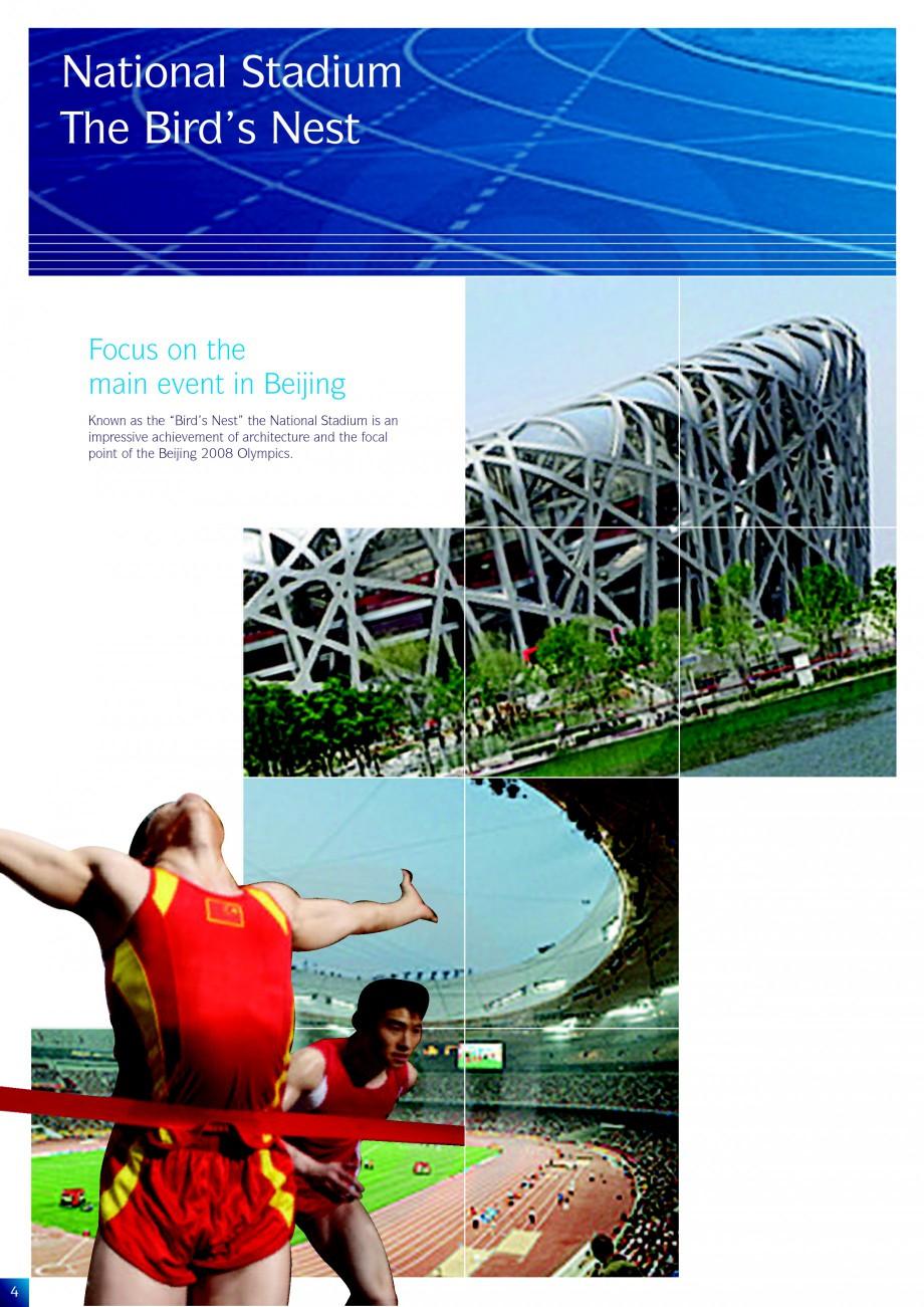 Pagina 4 - Lucrari de referinta la diverse editi ale Jocurilor Olimpice - Beijing, Atena, Sydney...