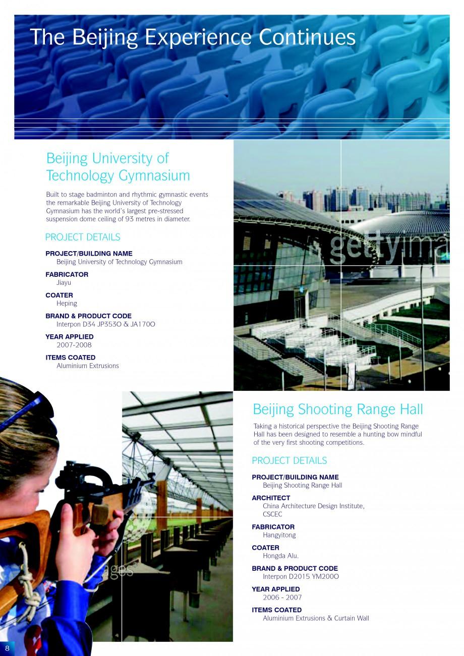 Pagina 8 - Lucrari de referinta la diverse editi ale Jocurilor Olimpice - Beijing, Atena, Sydney...