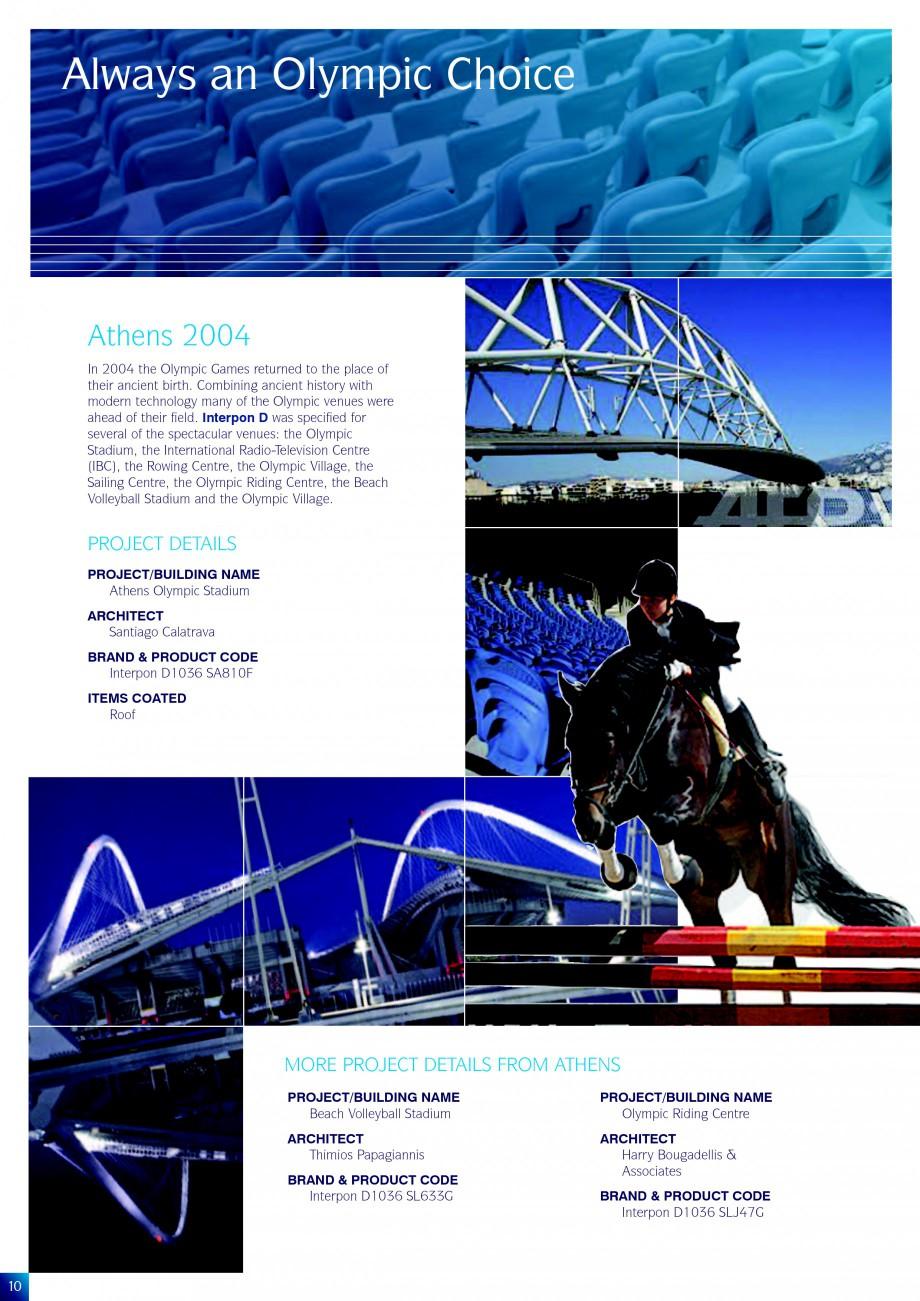 Pagina 10 - Lucrari de referinta la diverse editi ale Jocurilor Olimpice - Beijing, Atena, Sydney...