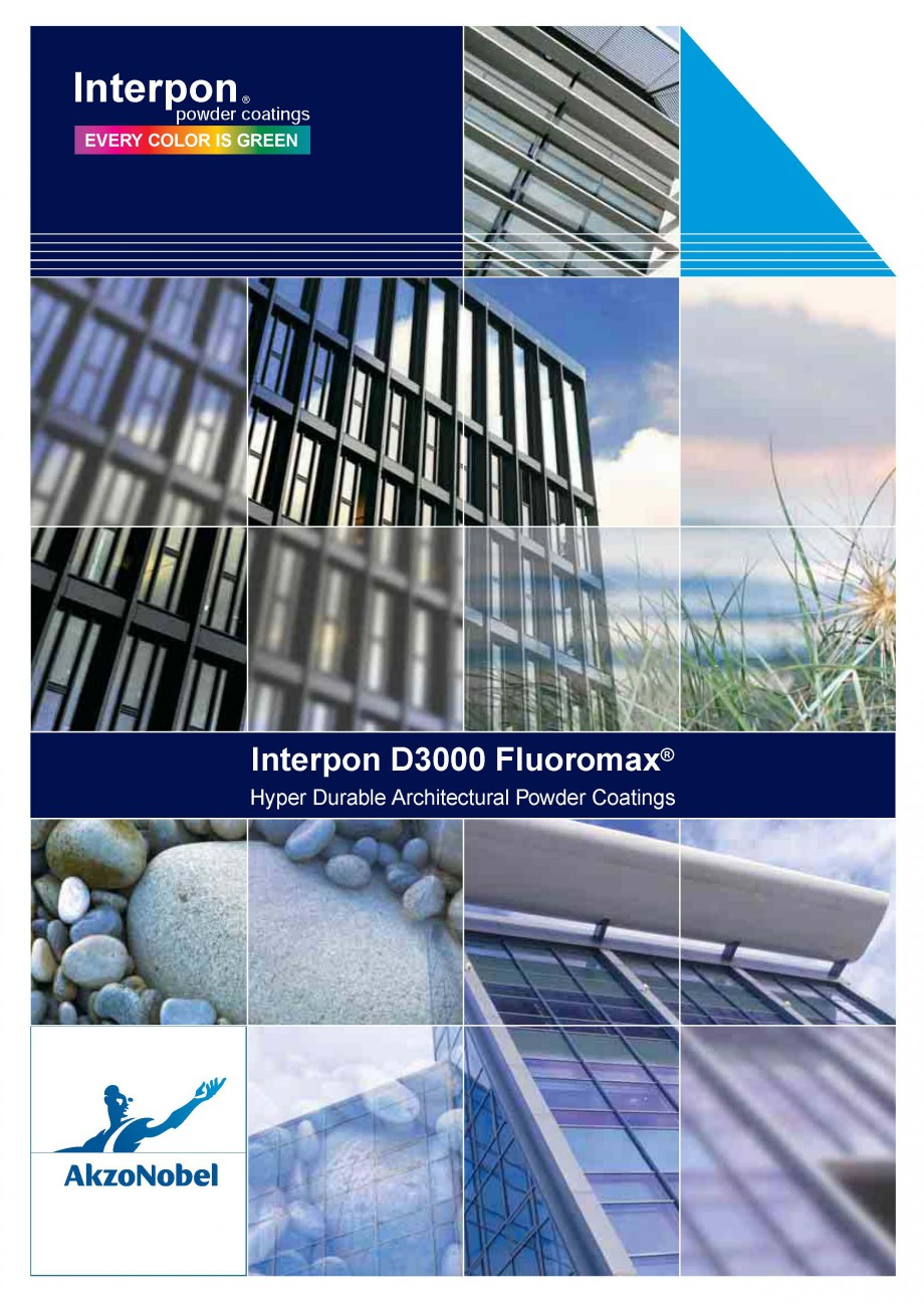 Pagina 1 - Vopsele pulberi INTERPON Interpon D3000 - Fluoromax Catalog, brosura Engleza Interpon...