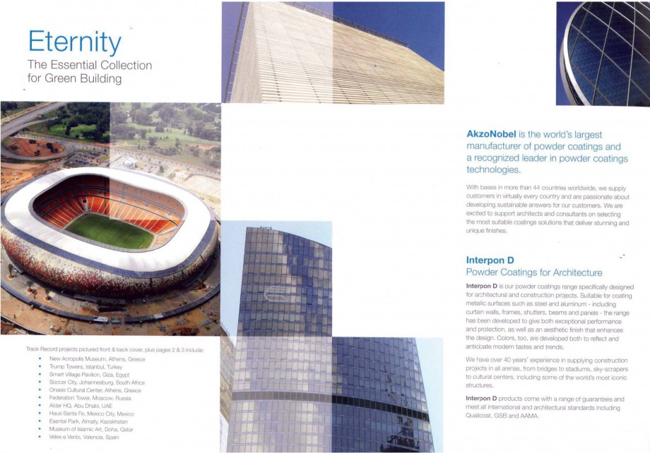Pagina 2 - Vopsele pulberi INTERPON Interpon Eternity Catalog, brosura Engleza