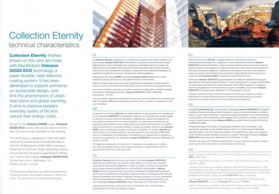 Pagina 11 - Vopsele pulberi INTERPON Interpon Eternity Catalog, brosura Engleza