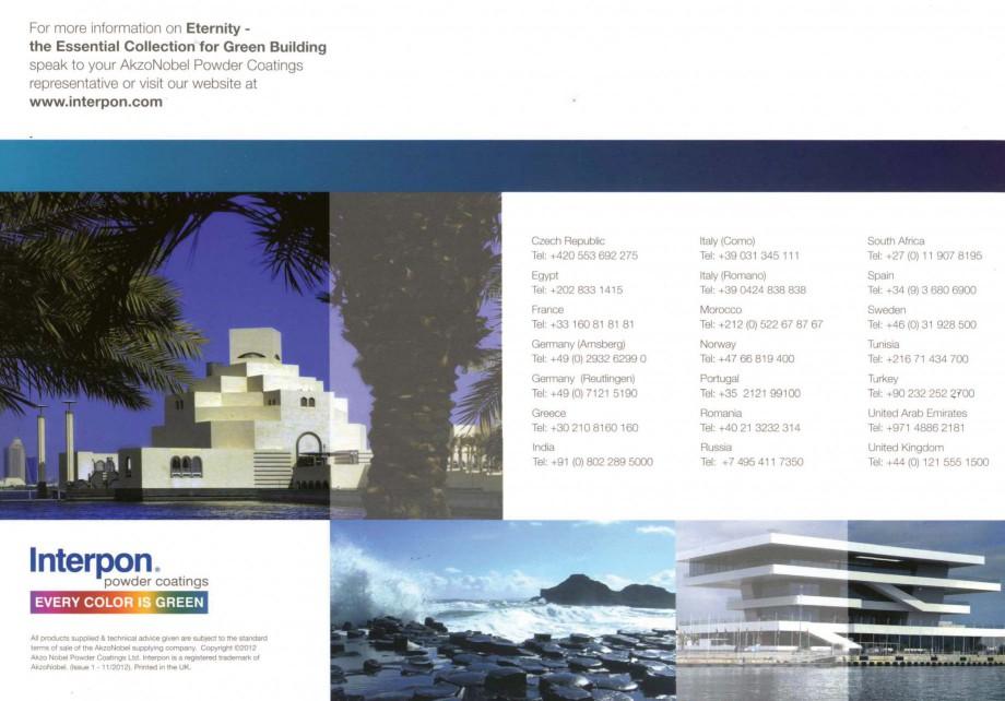 Pagina 12 - Vopsele pulberi INTERPON Interpon Eternity Catalog, brosura Engleza