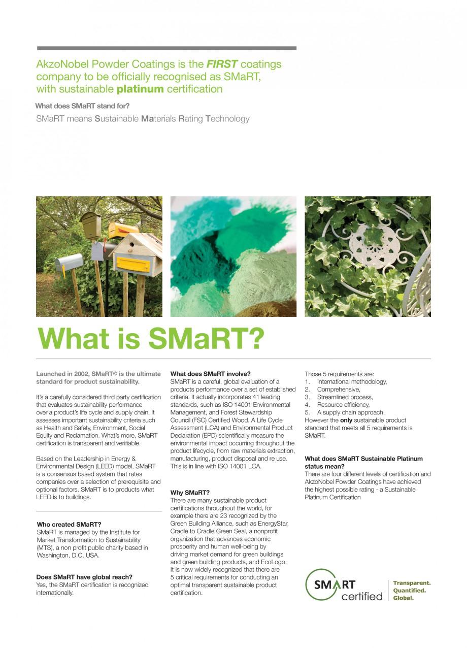 Pagina 2 - Akzo Nobel Powder Coatings - prima companie de vopsele pulberi certificata SMaRT INTERPON...