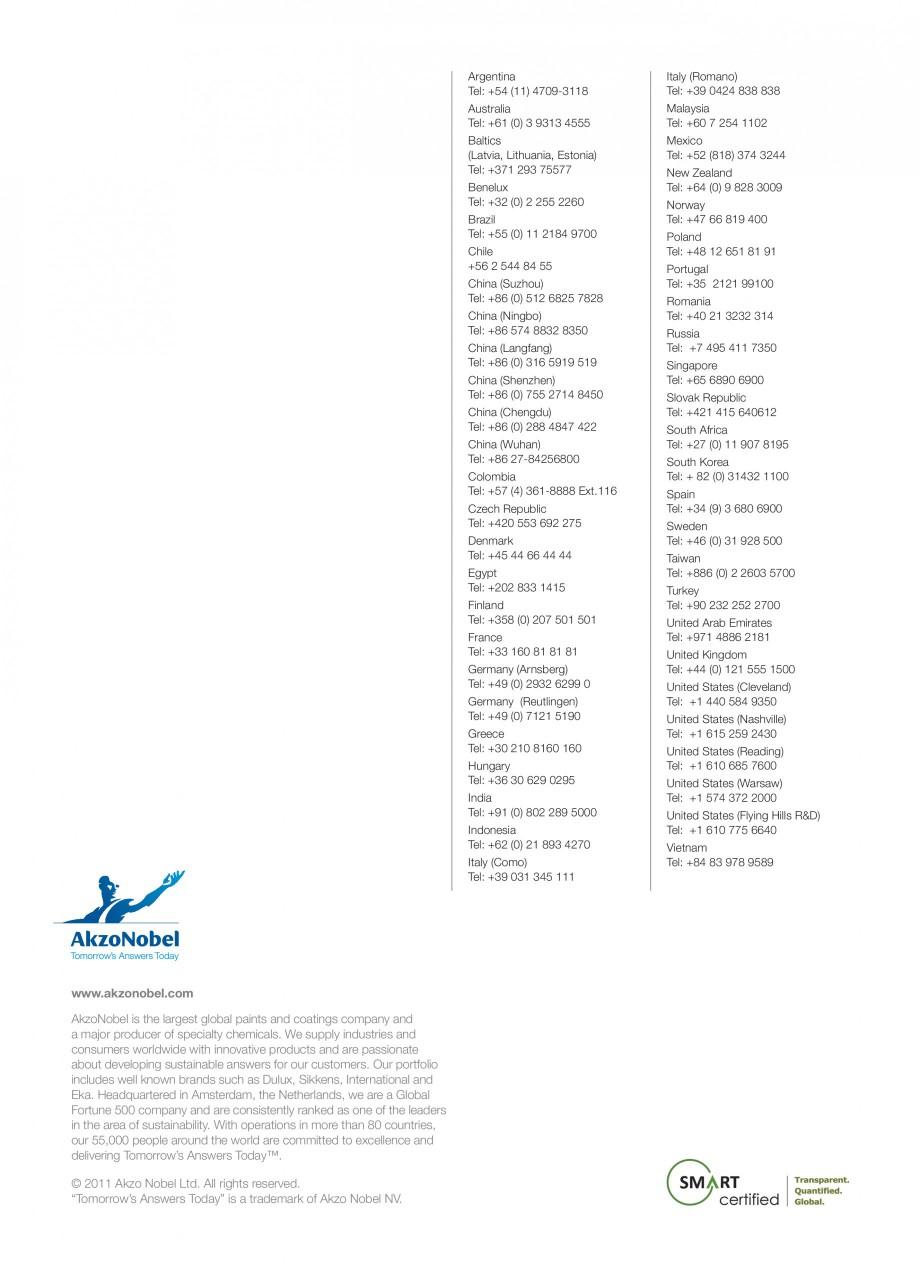 Pagina 4 - Akzo Nobel Powder Coatings - prima companie de vopsele pulberi certificata SMaRT INTERPON...