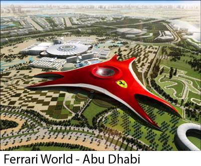 Ferrari_World Vopsele pulberi - lucrari internationale