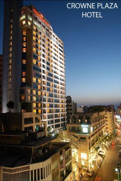 CROWNE PLAZA HOTEL Vopsele pulberi - lucrari internationale