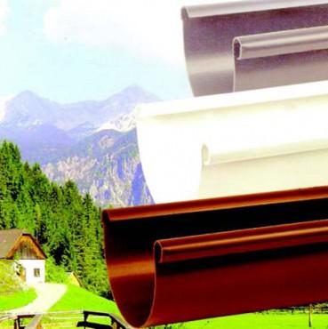 Exemple de utilizare Jgheaburi si burlane din PVC TERAPLAST - Poza 1