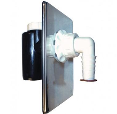 Sifon ingropat cu ventil cu bila pentru masina de spalat TERAPLAST - Poza 15