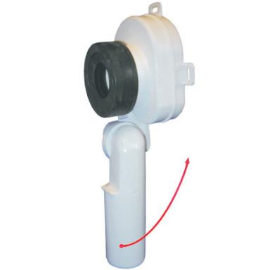 Sifon pentru pisoar cu articulatie pentru articulatie pentru pisoarele de 1 litru TERAPLAST - Poza 1