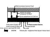 Sistemul TWIN din placi acustice Knauf Cleaneo - D127 312 KNAUF