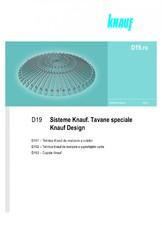 Sisteme de tavane speciale - Knauf Design KNAUF