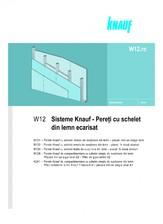 Sisteme de pereti de compartimentare cu schelet din lemn ecarisat KNAUF