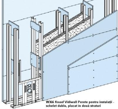Sisteme de pereti de compartimentare cu placi Vidiwall pe schelet metalic KNAUF - Poza 5