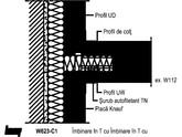 Placare la perete cu profil CD 60x27 - W623 122 KNAUF