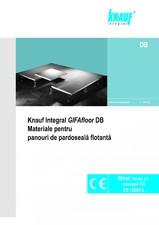 Sisteme de pardoseli suprainaltate demontabile din placi GIFAfloor KNAUF