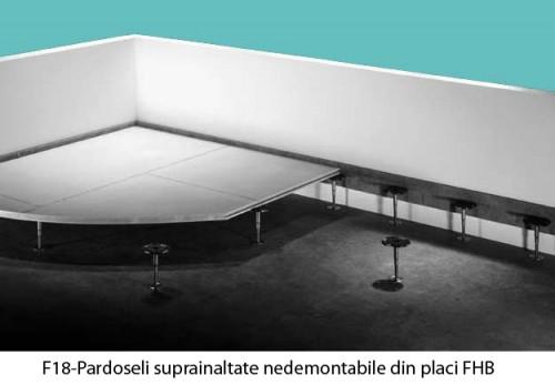 Sisteme de pardoseli suprainaltate nedemontabile din placi GIFAfloor KNAUF - Poza 3
