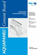 Placi pe baza de ciment AQUAPANEL pentru pereti de exterior AQUAPANEL