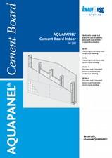 Placi pe baza de ciment AQUAPANEL pentru pereti de interior AQUAPANEL