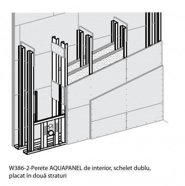 Sisteme de pereti de interior cu placi pe baza de ciment AQUAPANEL AQUAPANEL - Poza 2