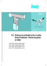 Placari pentru protectie la foc de stalpi si gringi cu placi Fireboard KNAUF