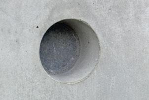 Exemple de utilizare Conuri de etansare din beton fibros FRANK - Poza 2
