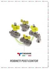 Robineti de gaz pentru instalare post-control TIEMME