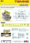 Robinet de gaz pentru instalare post-control TIEMME - PCONT02