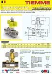 Robinet de gaz pentru instalare post-control TIEMME -  PCONT02SER