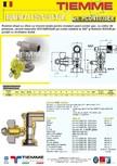Robinet de gaz pentru instalare post-control TIEMME - PCONT03SER