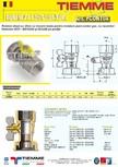 Robinet de gaz pentru instalare post-control TIEMME - PCONT04
