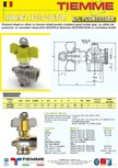 Robinet de gaz pentru instalare post-control TIEMME - PCONT05SER