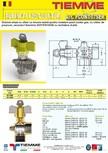 Robinet de gaz pentru instalare post-control TIEMME - PCONT07SER