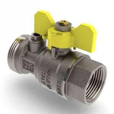 Prezentare produs Robinet de gaz pentru instalare post-control - PCONT01 TIEMME - Poza 1